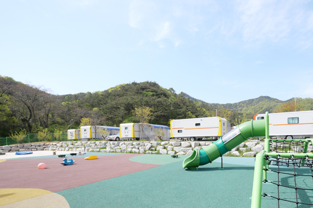 친환경 오토캠핑장 휴파크 광산점
