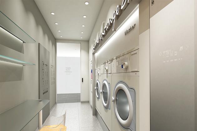 호텔 & 리조트 코인 세탁시설 - 런드리라운지