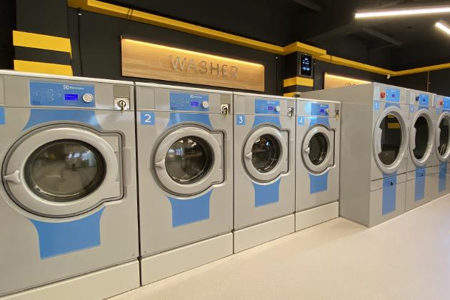 워시앤폴드 세탁공장