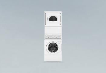 <COMMERCIAL COMBINATION STACK WASHER & DRYER