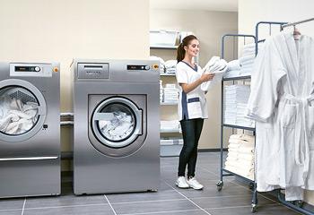 고급 주거 시설에 최적화된 최고급형 세탁 장비