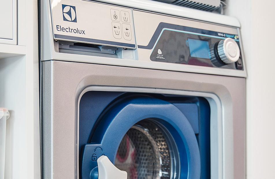 지속가능하고<br /> 친환경적인 세탁